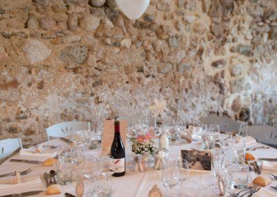 """Mariage C & M - thème """"champêtre chic"""", Hôtel Les Méjeonnes -Valaurie"""