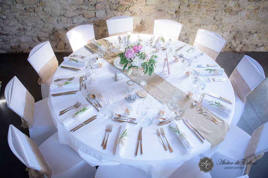 """Mariage A & PO - thème """"romantisme en Provence"""", Hôtel Les Méjeonnes -Valaurie"""