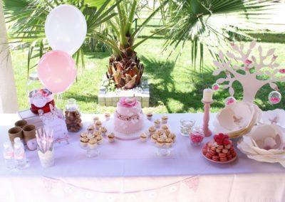 Décoration de buffets gourmands pour anniversaire, baptême, baby shower - 49€ (hors pâtisseries)